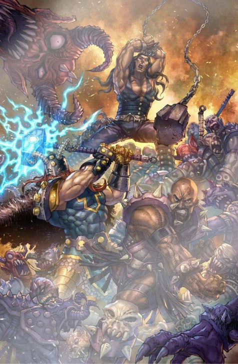 Gods of Brutality #1 Alan Quah Foil Variant