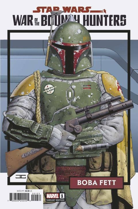 Star Wars War of the Bounty Hunters #1 JTC 1:25 Retail Variant