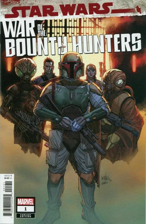 Star Wars War of the Bounty Hunters #1 Yu 1:25 Retail Variant