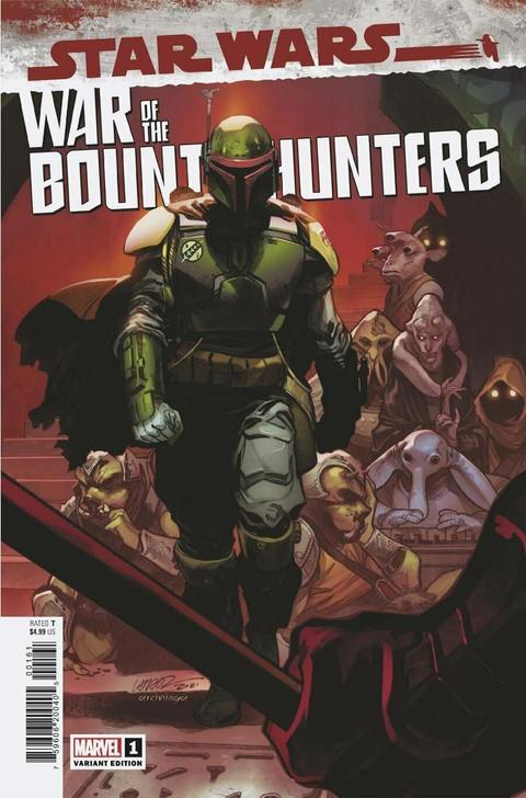 Star Wars War of the Bounty Hunters #1 Larraz 1:50 Retail Variant