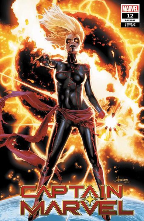 Captain Marvel #12 Jay Anacleto Trade Variant