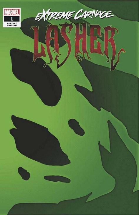 Extreme Carnage Lasher #1 1:50 Symbiote Retail Variant