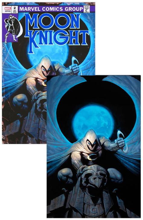 Moon Knight #2 E.M. Gist Virgin Variant Set