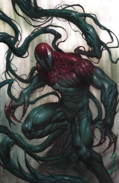 Extreme Carnage Lasher #1 Lucio Parrillo Virgin Variant