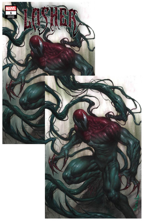 Extreme Carnage Lasher #1 Lucio Parrillo Virgin Variant SET
