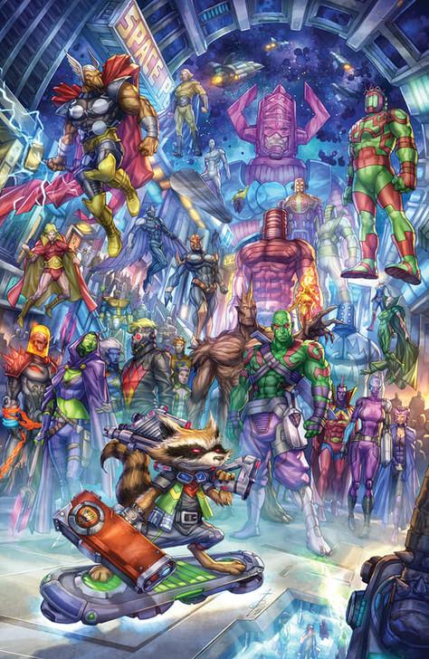 The Marvels #3 Alan Quah Virgin Variant