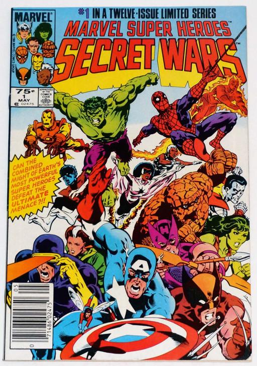 Secret Wars #1 1st Cameo Beyonder