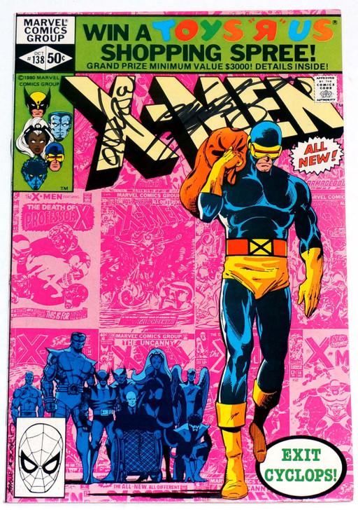 Uncanny X-Men #138 Signed Byrne Claremont