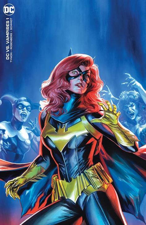 DC vs Vampires #1 Felipe Massafera Virgin Variant