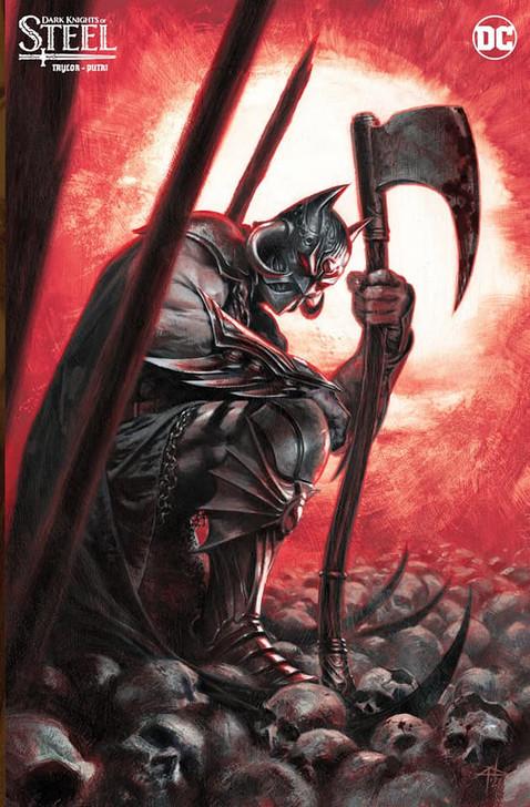 Dark Knights of Steel #1 Dell'otto Virgin Variant