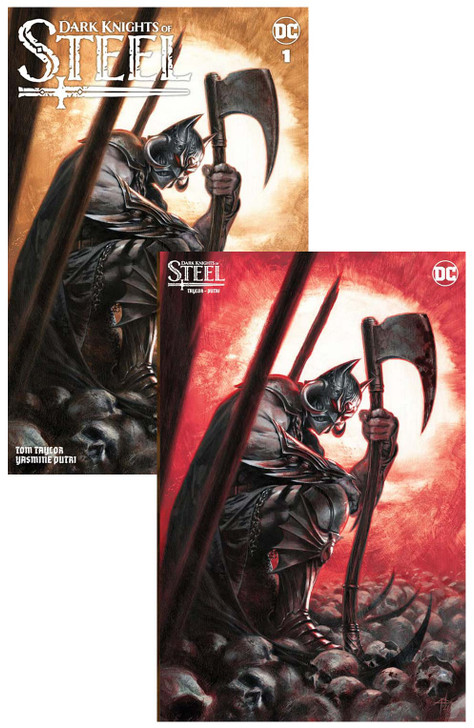 Dark Knights of Steel #1 Dell'otto Variant SET