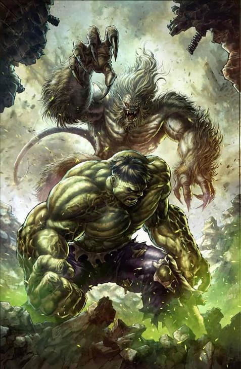 Hulk #1 Alan Quah Virgin Variant