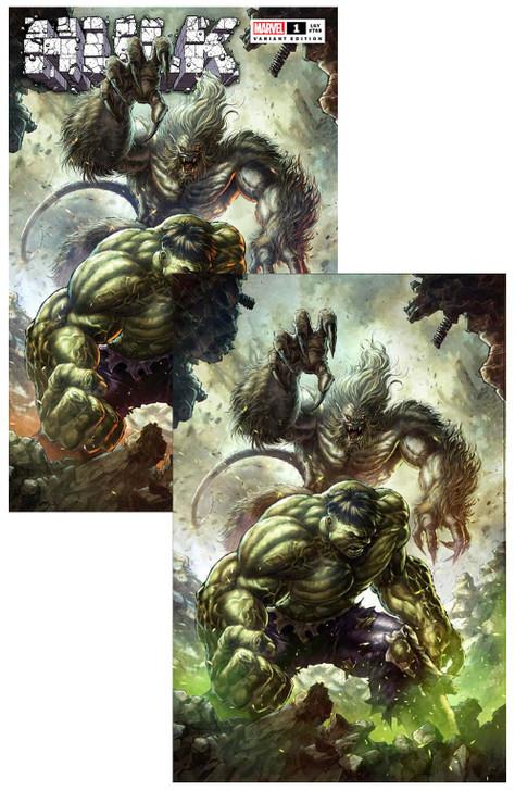 Hulk #1 Alan Quah Variant SET
