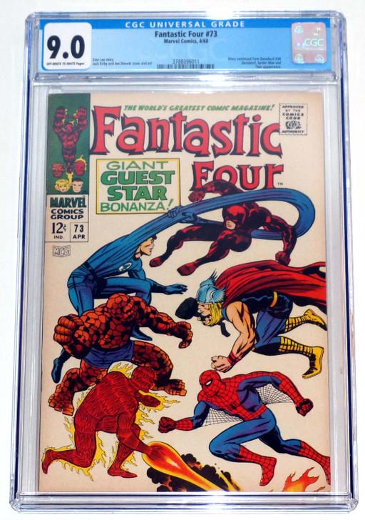 Fantastic Four #73 CGC 9.0