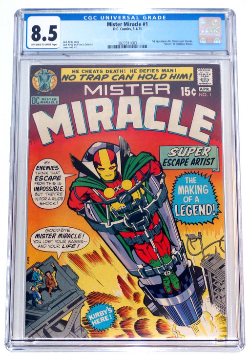 Mister Miracle #1 CGC 8.5 1st Mister Miracle