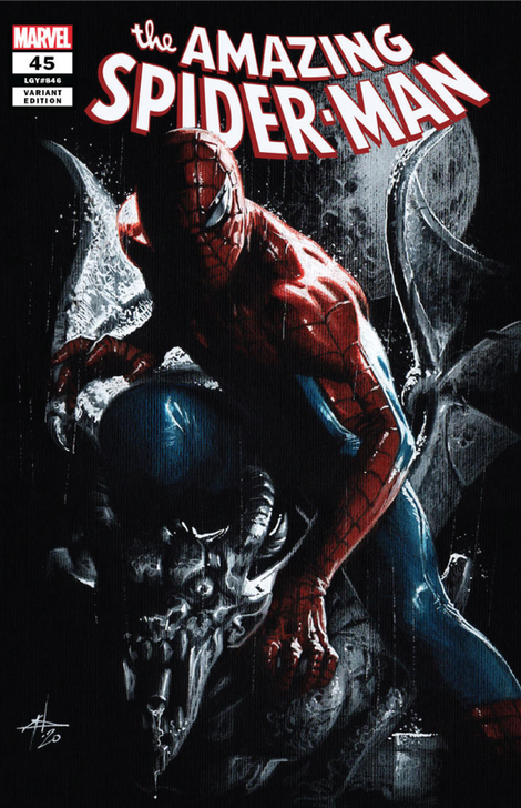 Amazing Spider-Man #45  Dell'Otto  Variant