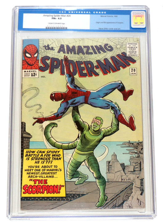 Amazing Spider-Man 20 CGC 6.5 1st App Scorpion
