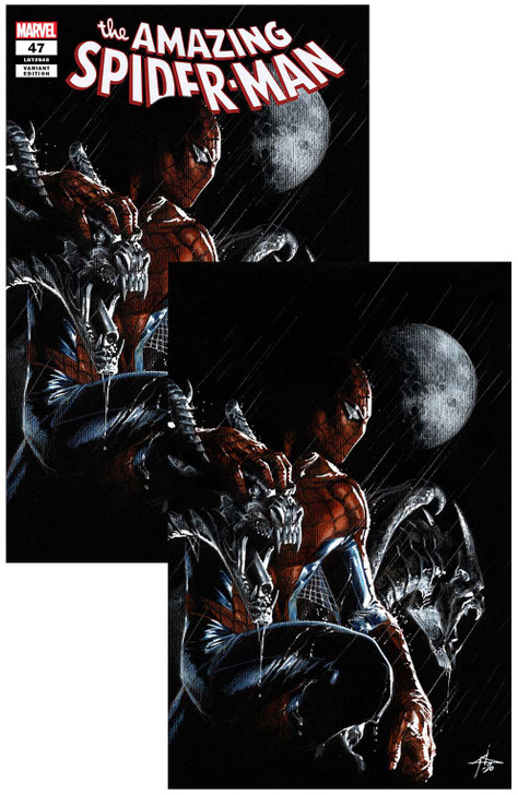Amazing Spider-Man #47  Dell'Otto  Variant  Set