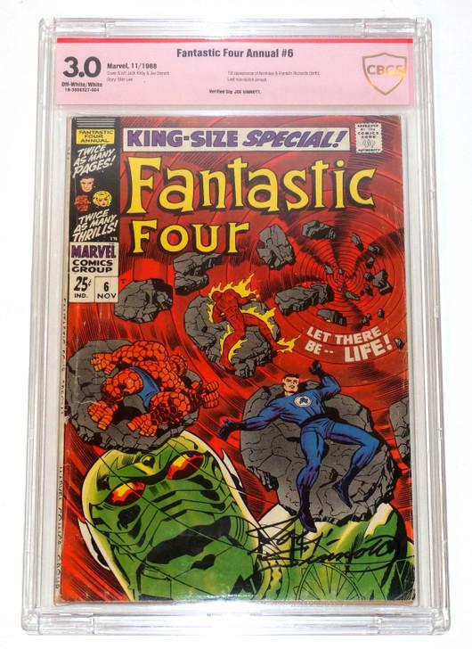 Fantastic Four Annual #6 CBCS 3.0