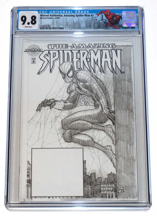 Amazing Spider-Man 1 CGC 9.8 Authentix Vartiant