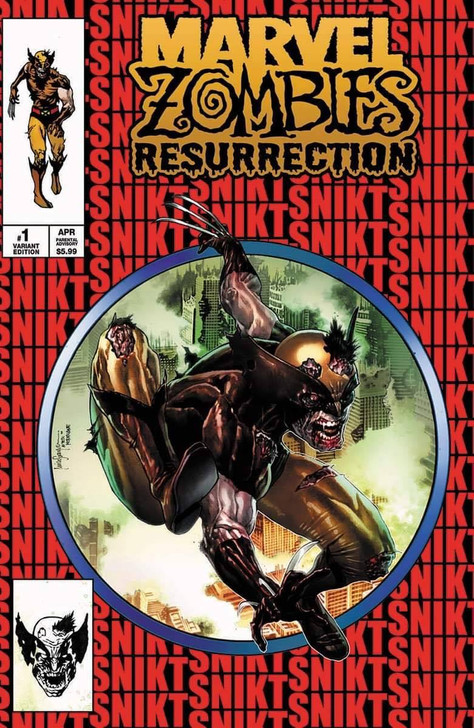 Marvel Zombies Resurrection #1 Mico Suayan Variant