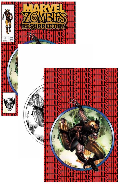 Marvel Zombies Resurrection #1 Mico Suayan Variant Set