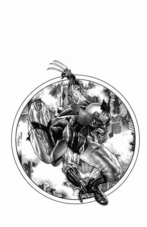 Marvel Zombies Resurrection #1 Mico Suayan B&W Variant