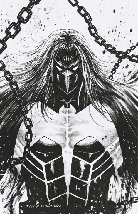 Venom 27 Tyler Kirkham black and white virgin Variant