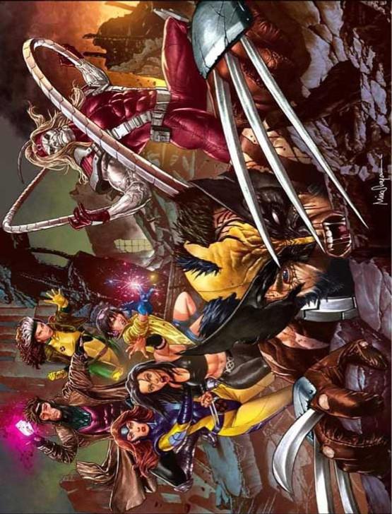 Wolverine #5 Mico Suayan Landscape Virgin Variant