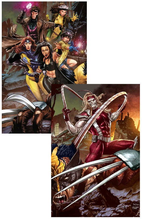 Wolverine #4 & #5 Mico Suayan Virgin Variants Set