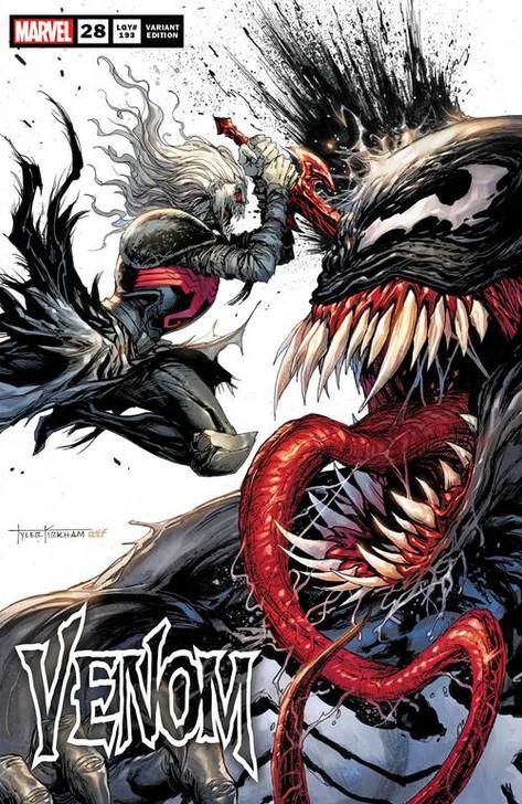 Venom #28 Tyler Kirkham Secret Trade Variant