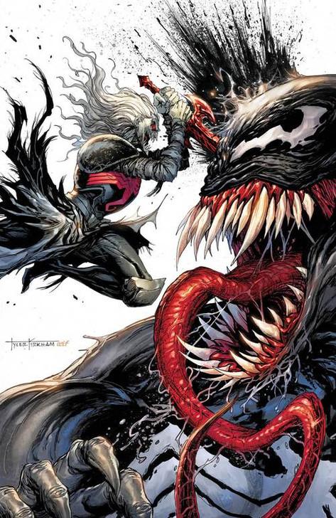Venom #28 Tyler Kirkham Secret  Virgin Variant