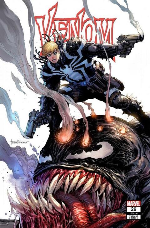Venom #29 Tyler Kirkham Secret Trade Variant
