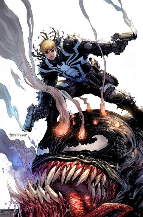 Venom #29 Tyler Kirkham Secret Virgin Variant
