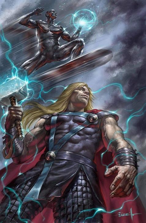 Thor #8 Lucio Parrillo Virgin Variant