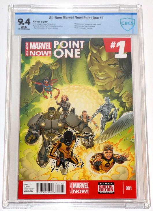 All-New Marvel Now Point One #1 1st Kamala Khan as Ms Marvel