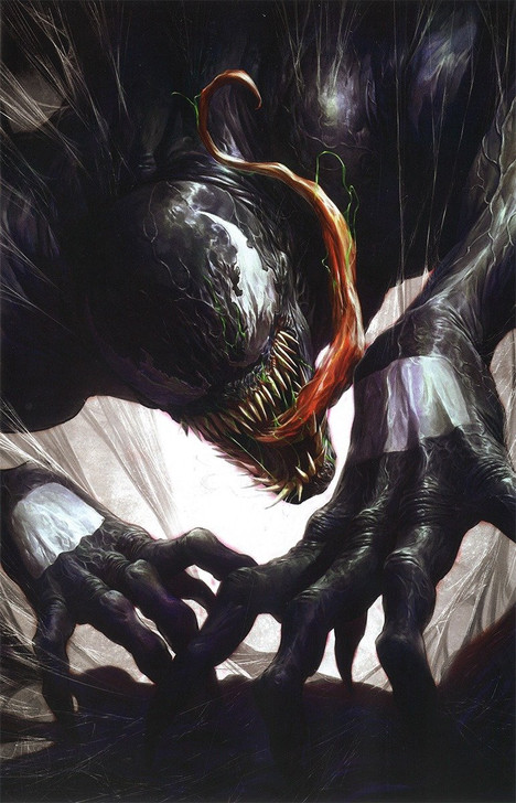 Venom #28 David Rapoza Color Splash Virgin Variant