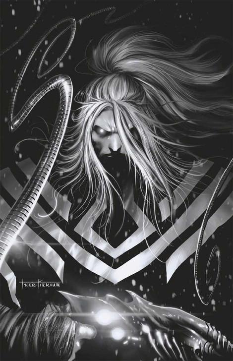 Web of Venom Wraith #1 Tyler Kirkham B&W Virgin Variant