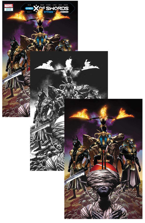 X of Swords STASIS #1 Mico Suayan Variant Set