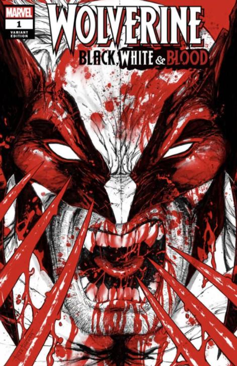Wolverine Black White & Blood #1 Tyler Kirkham Trade Variant