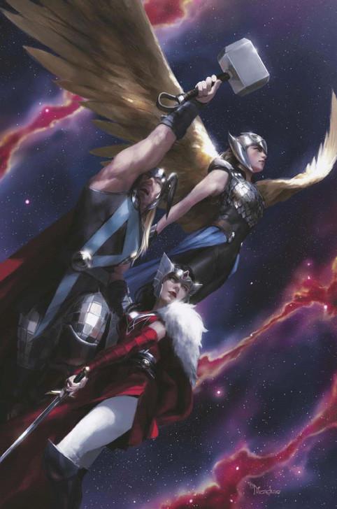 Thor #10 Miguel Mercado Virgin Variant