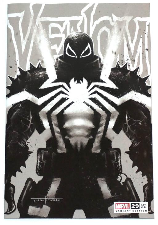 Venom #29 Tyler Kirkham B&W Trade Variant