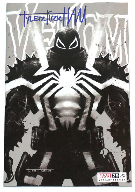 Venom #29 Tyler Kirkham B&W Trade Variant Signed by Tyler Kirkham