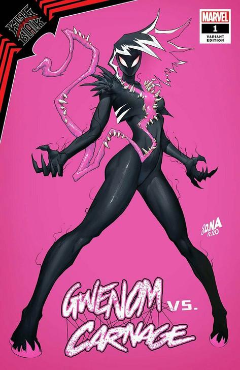 Gwenom vs Carnage #1 David Nakayama Trade Variant