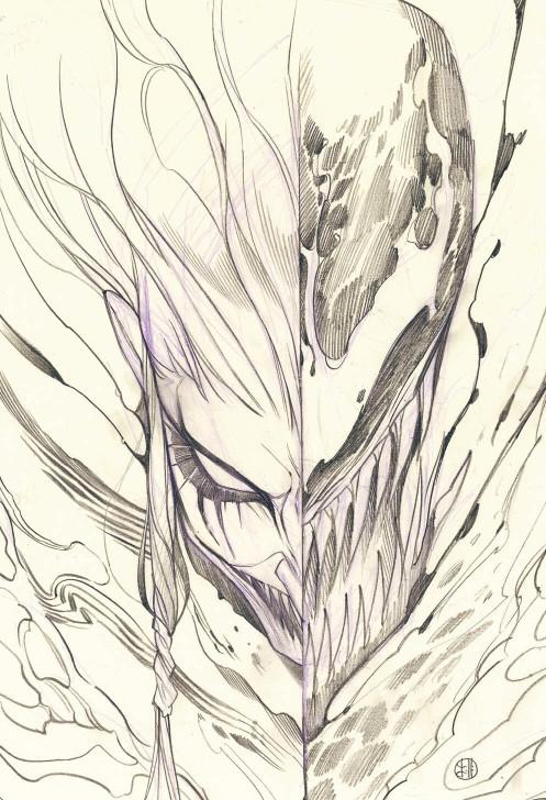 Venom #30 Peach Momoko Sketch Virgin Variant