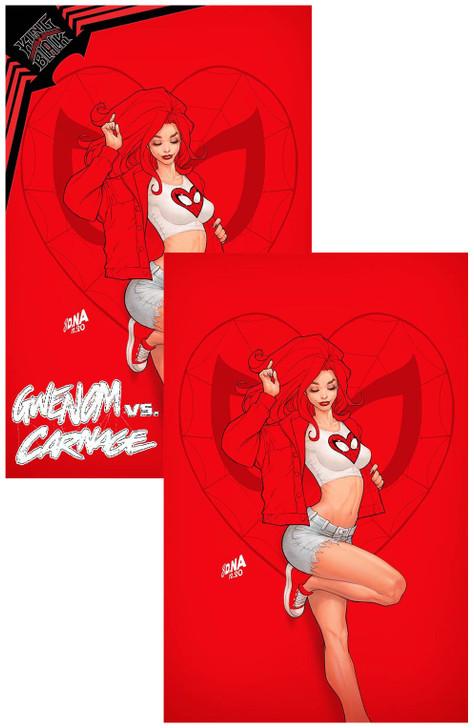 Gwenom vs Carnage #2 David Nakayama Virgin Variant SET
