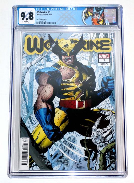 Wolverine #1 CGC 9.8 Jim Lee Retail Incentive Variant