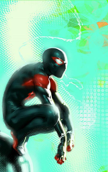 Miles Morales Spider-Man #25 Dell'Otto Virgin Variant