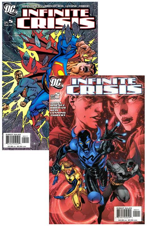 Infinite Crisis #5 Jim Lee George Perez