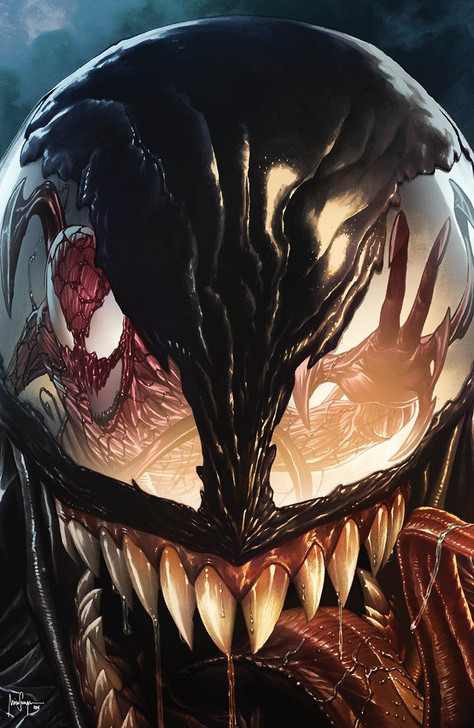 Carnage Black White & Blood #1 Mico Suayan Virgin Variant